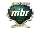 Sticker | MIBR (Gold) | Berlin 2019
