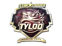 Sticker | Tyloo (Gold) | Berlin 2019