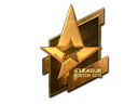 Sticker | Astralis (Gold) | Boston 2018
