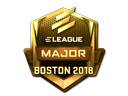 Sticker | ELEAGUE (Gold) | Boston 2018
