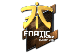 Fnatic+%28Foil%29+%7C+Boston+2018