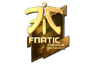 Sticker | Fnatic (Gold) | Boston 2018