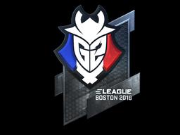 G2+Esports+%28Foil%29+%7C+Boston+2018
