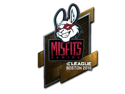 Misfits+Gaming+%28Foil%29+%7C+Boston+2018