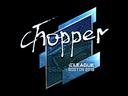 chopper (Foil) | Boston 2018