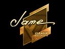 Jame (Gold) | Boston 2018