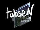 tabseN (Foil) | Boston 2018