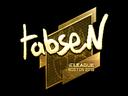 tabseN (Gold) | Boston 2018