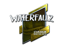 waterfaLLZ (Foil) | Boston 2018