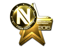 Sticker | Team EnVyUs (Gold) | Cluj-Napoca 2015