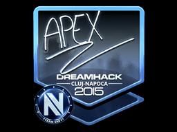 apEX+%28Foil%29+%7C+Cluj-Napoca+2015