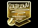 Sticker | coldzera (Gold) | Cluj-Napoca 2015