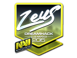 Zeus+%28Foil%29+%7C+Cluj-Napoca+2015