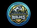 Copenhagen Wolves (Foil)   Cologne 2014