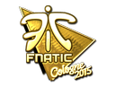 Sticker | Fnatic (Gold) | Cologne 2015