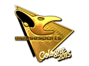 Sticker | mousesports (Gold) | Cologne 2015