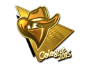 Sticker | Renegades (Gold) | Cologne 2015
