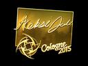 Sticker   allu (Gold)   Cologne 2015