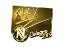 apEX (Gold) | Cologne 2015