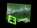 bondik (Foil) | Cologne 2015