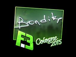 bondik+%28Foil%29+%7C+Cologne+2015