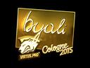 byali (Gold) | Cologne 2015
