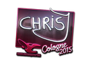 chrisJ (Foil) | Cologne 2015