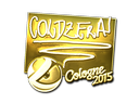 Sticker | coldzera (Gold) | Cologne 2015