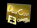 DavCost (Gold) | Cologne 2015