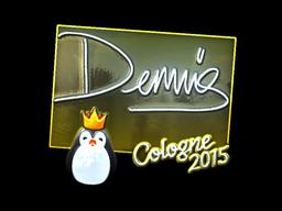 dennis+%28Foil%29+%7C+Cologne+2015