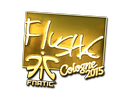 flusha (Gold) | Cologne 2015