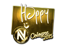 Happy (Gold) | Cologne 2015