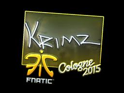 KRIMZ+%28Foil%29+%7C+Cologne+2015
