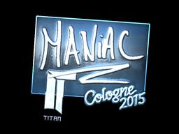 Maniac+%28Foil%29+%7C+Cologne+2015