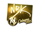 NBK- (Gold) | Cologne 2015