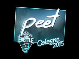 peet+%28Foil%29+%7C+Cologne+2015