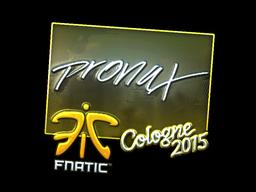 pronax+%28Foil%29+%7C+Cologne+2015