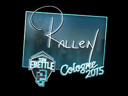 rallen+%28Foil%29+%7C+Cologne+2015