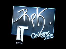 RpK+%28Foil%29+%7C+Cologne+2015