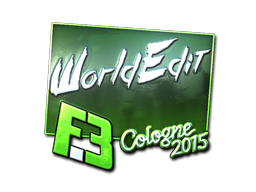 WorldEdit+%28Foil%29+%7C+Cologne+2015