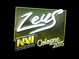 Zeus+%28Foil%29+%7C+Cologne+2015