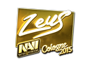 Zeus (Gold) | Cologne 2015