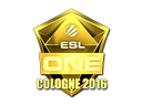 Sticker | ESL (Gold) | Cologne 2016