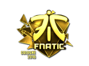 Sticker | Fnatic (Gold) | Cologne 2016
