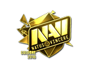 Sticker | Natus Vincere (Gold) | Cologne 2016