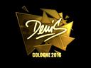 denis (Gold)   Cologne 2016