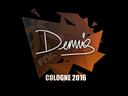 dennis | Cologne 2016