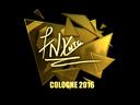 Sticker | fnx (Gold) | Cologne 2016
