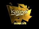 karrigan (Gold) | Cologne 2016