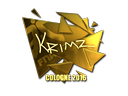 KRIMZ (Gold) | Cologne 2016